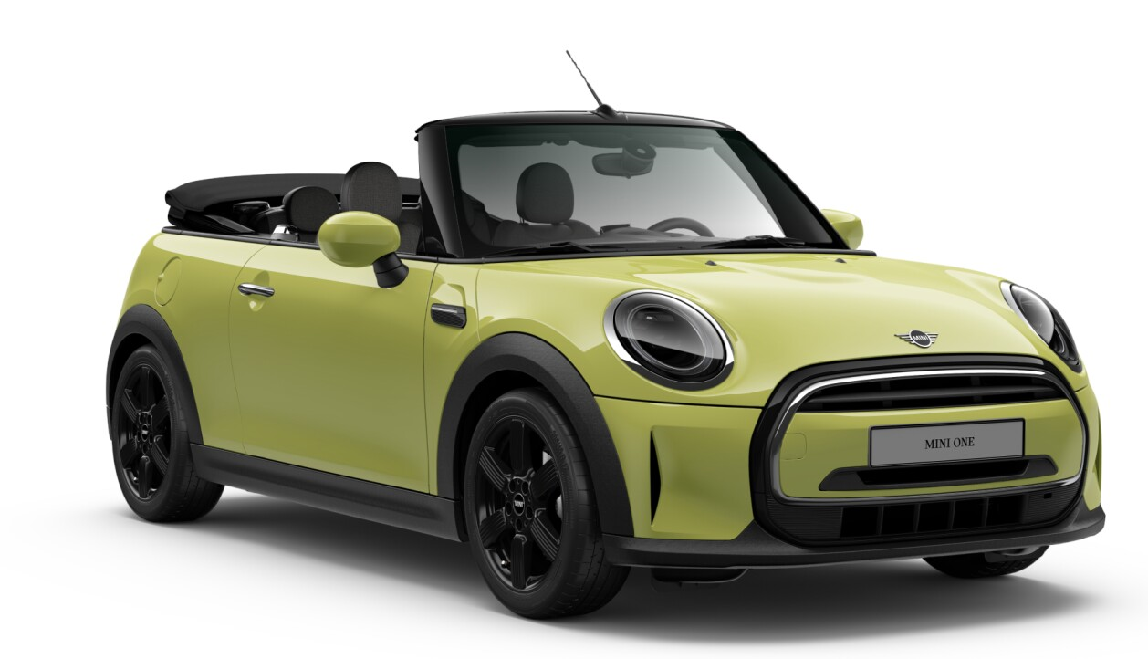 MINI One Cabrio LCI Zesty Yellow
