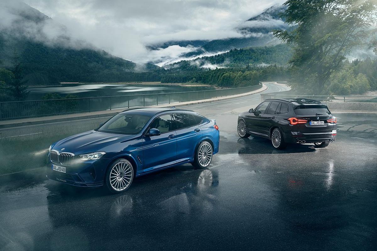 BMW Alpina XD3 und XD4 twinshot