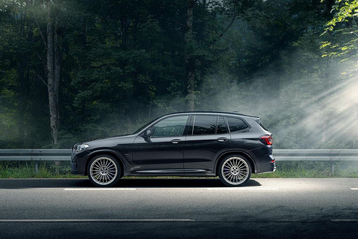BMW Alpina XD3 und XD4 Seite