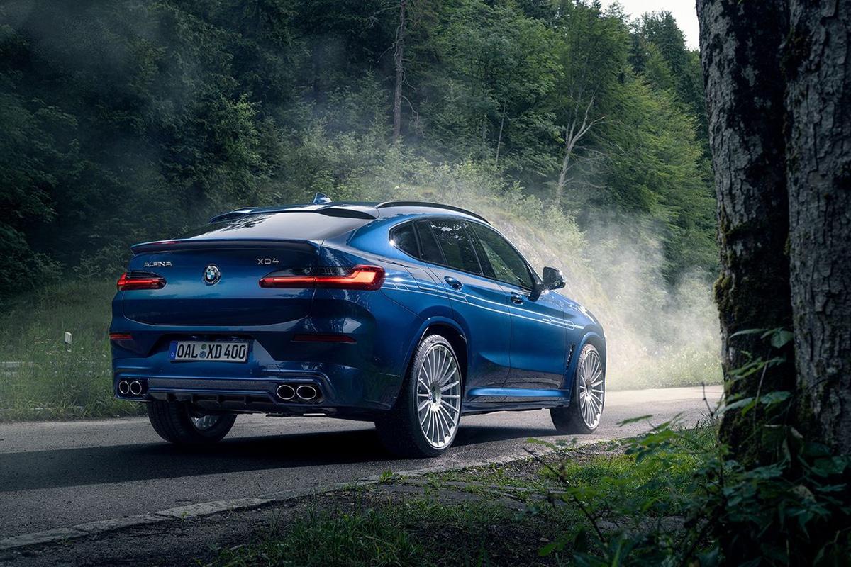 BMW Alpina XD3 und XD4 Heck