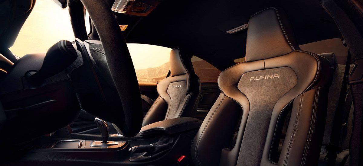 Alpina B4 S Bi-Turbo Interior
