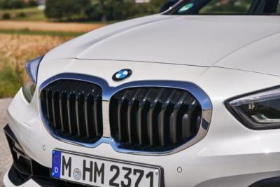 BMW 118d in weiß