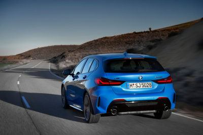 BMW 1er - Heck