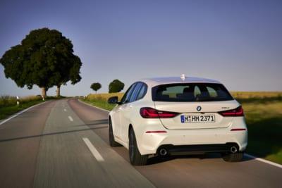 BMW 1er Heckansicht