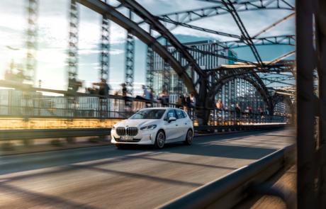 BMW 2er Active Tourer Facelift 2021 Rolling-Shot