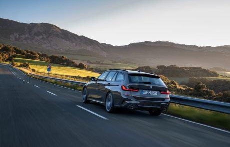 Heck des BMW 3er Touring