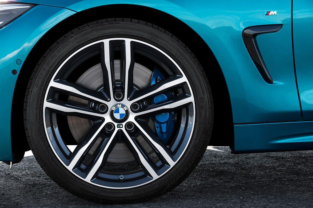Felgen am BMW 4er Coupé