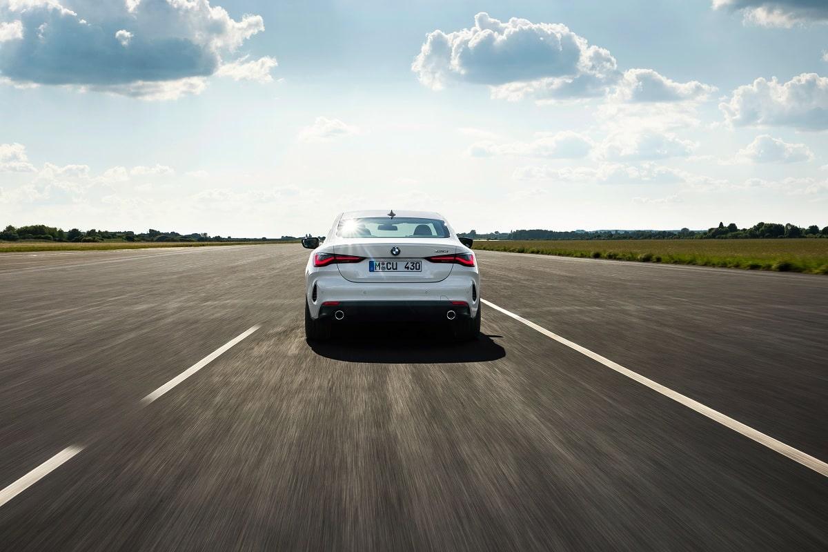 Heck des neuen BMW 4er Coupé