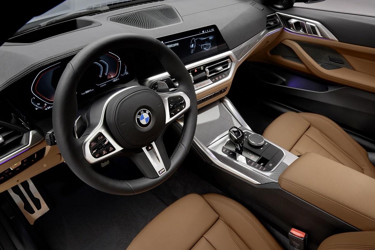 Innenraum des BMW 4er Coupé