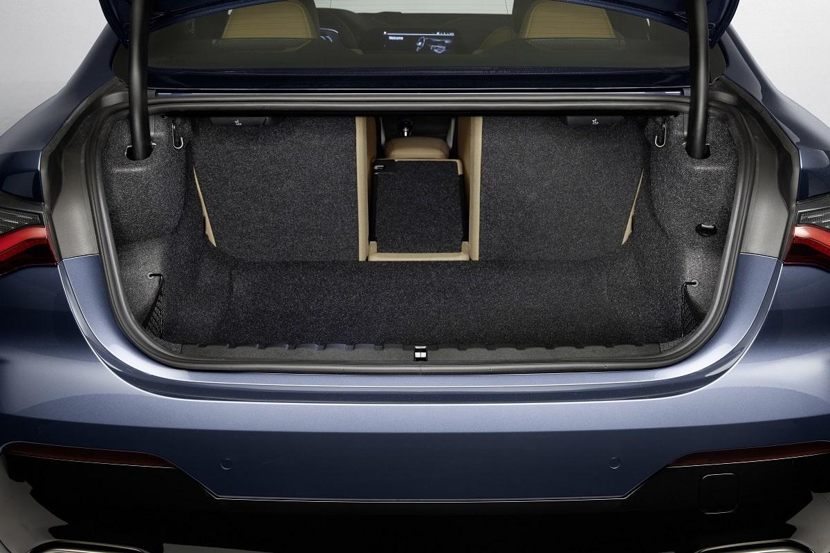Kofferraum des BMW 4er Coupé