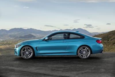 BMW 4er Coupé Seitenansicht