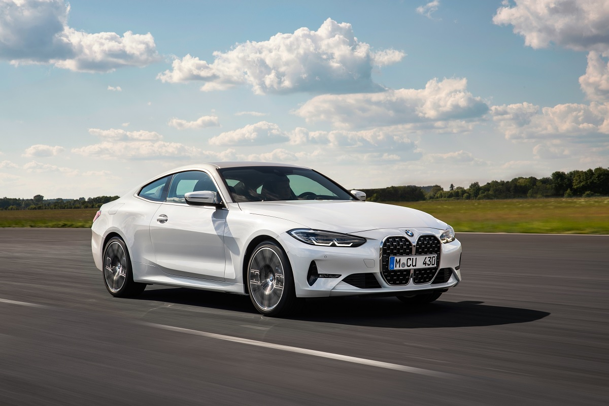 BMW 4er Coupé mit neuer Front