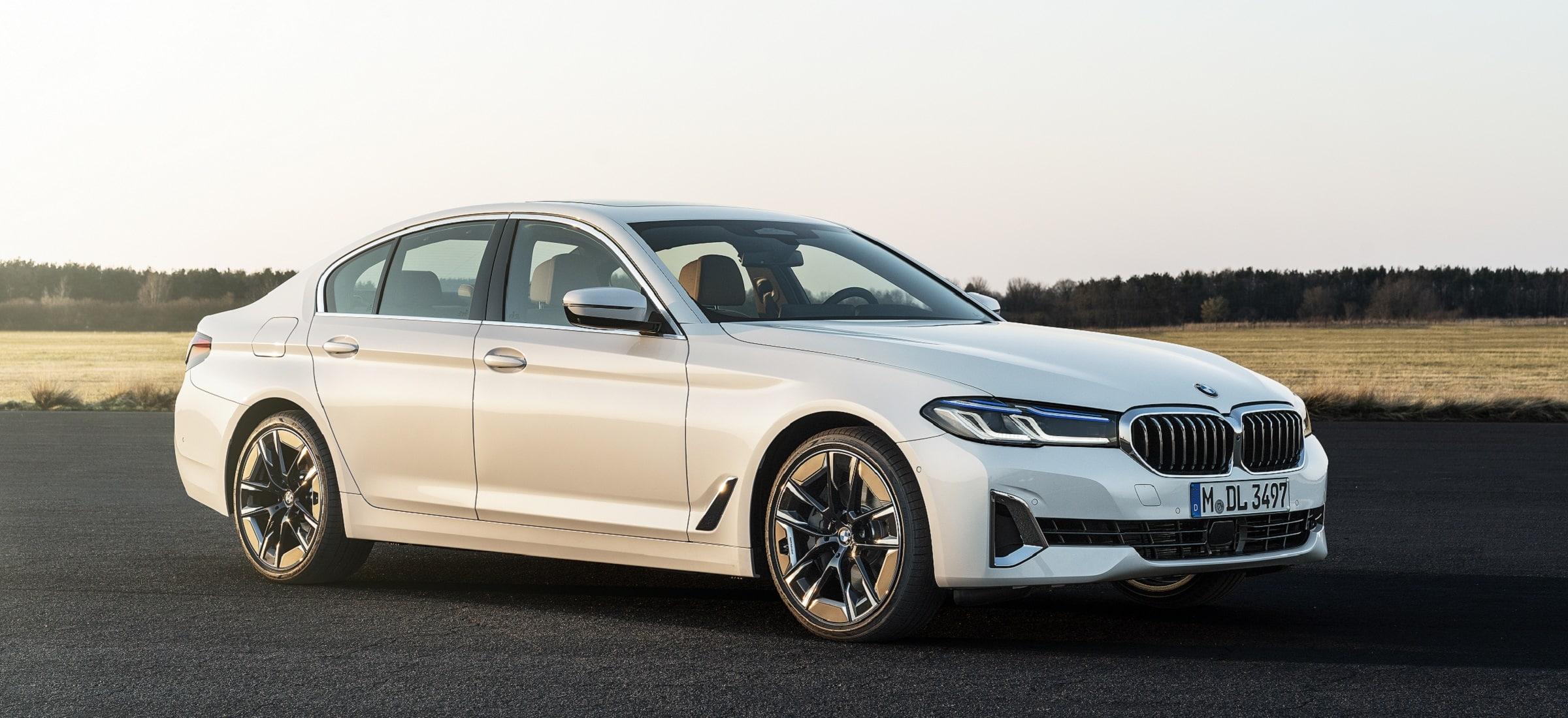 BMW 5er Limousine Facelift