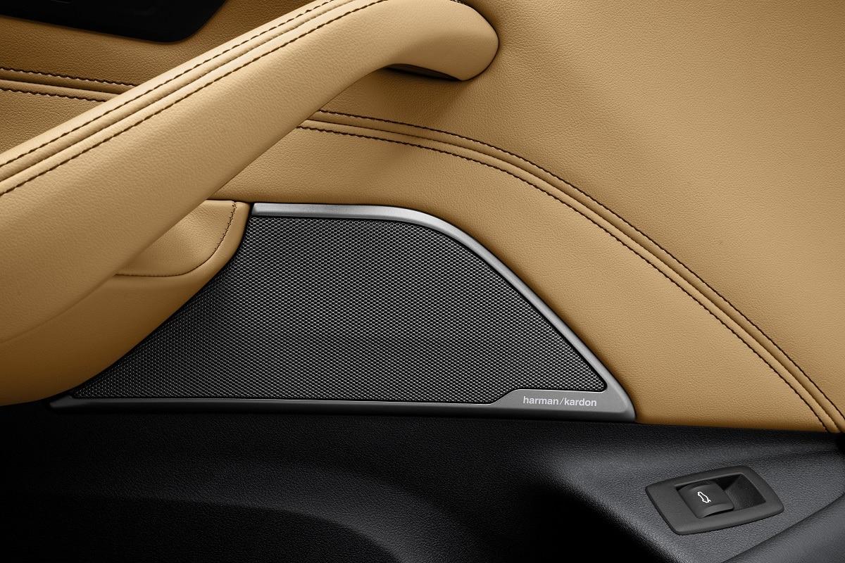 Interior-Material der neuen BMW 5er Limousine