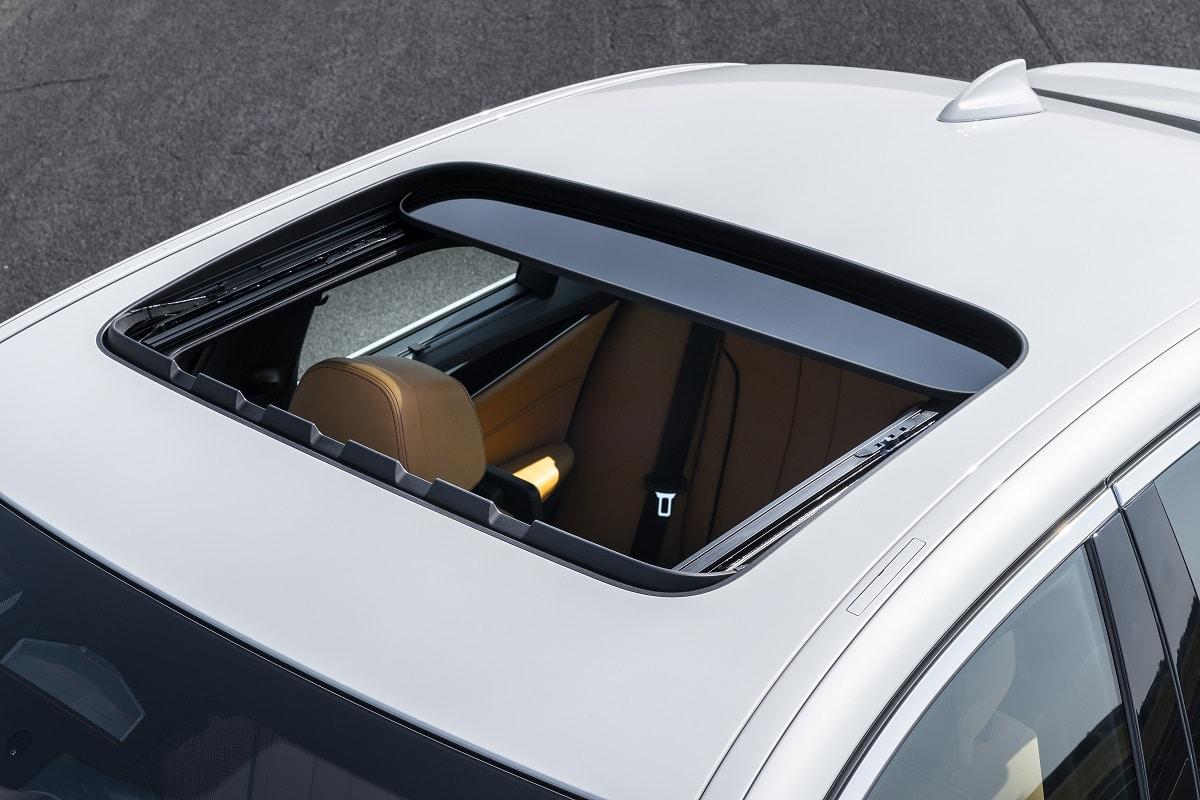 Schiebedach der BMW 5er Limousine