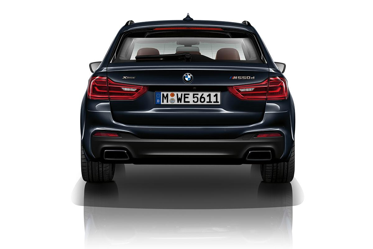 BMW M550d Heck