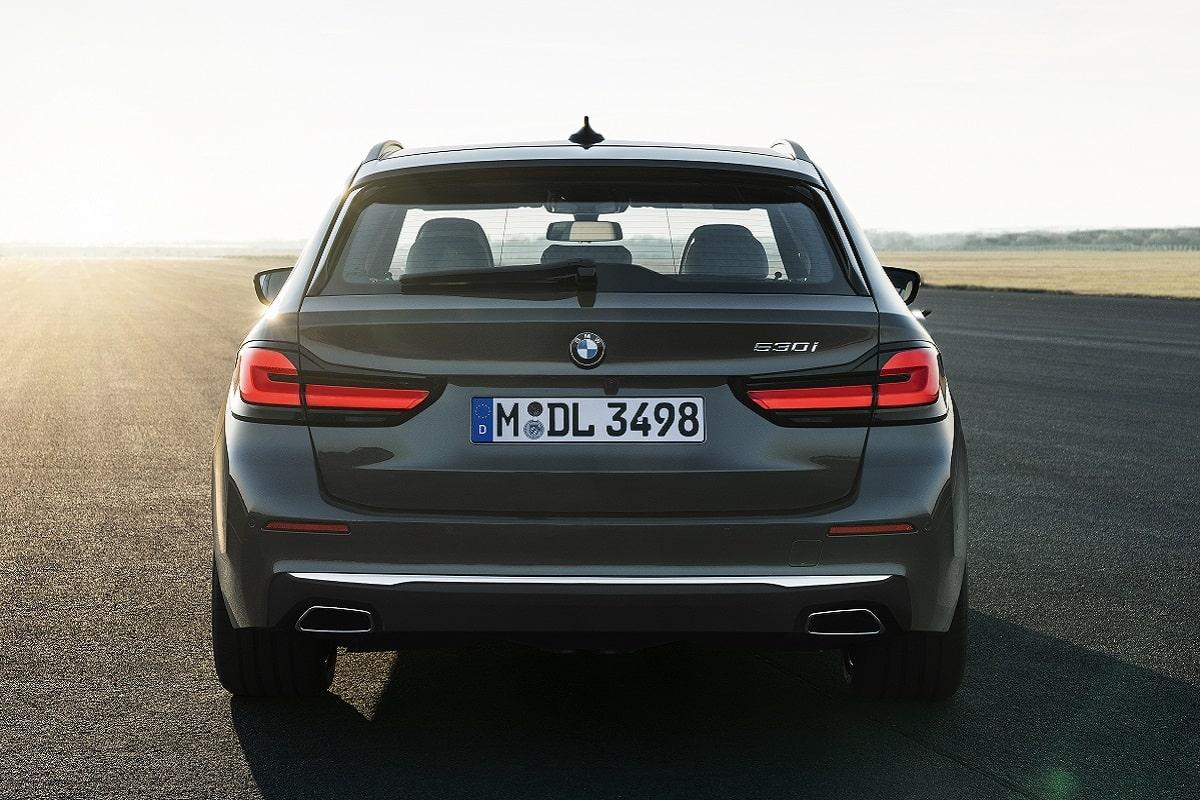 Heckansicht des BMW 5er Touring