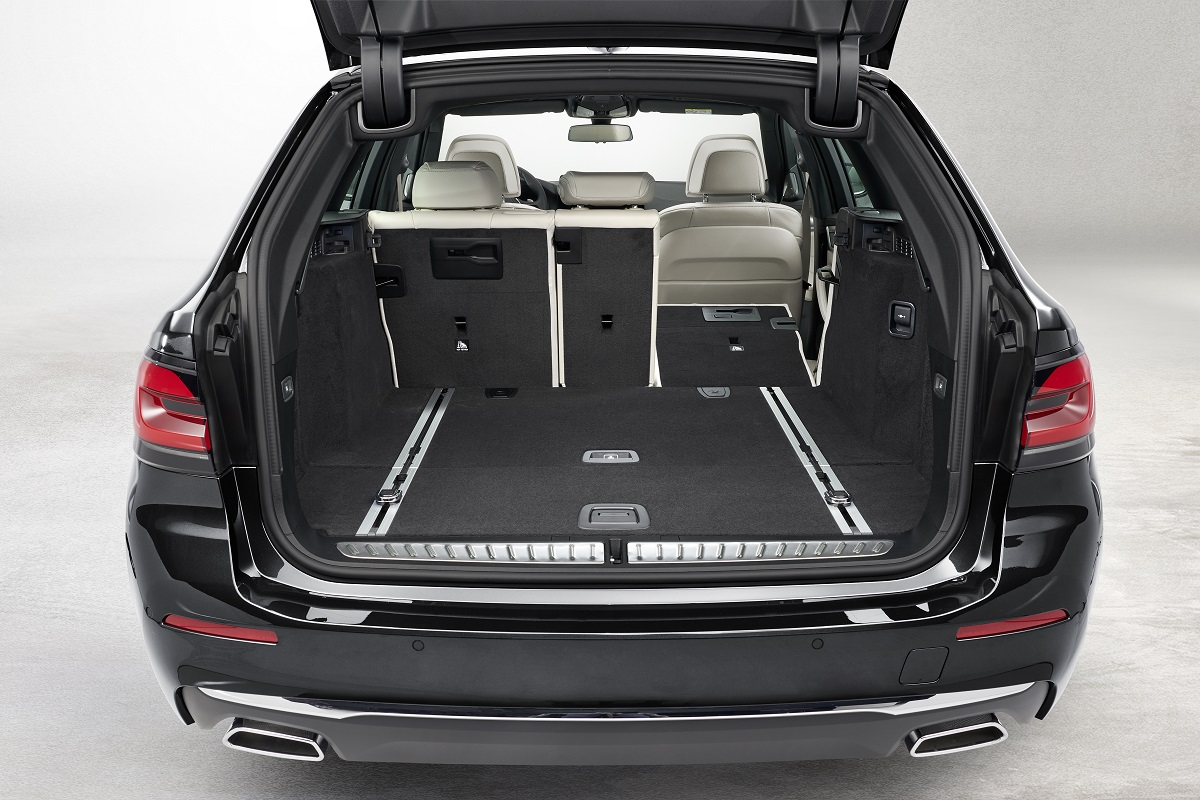 Kofferraum des BMW 5er Touring