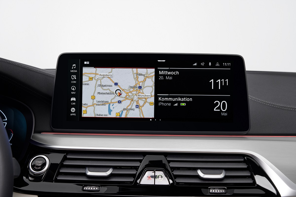 Navigation im BMW 5er Touring