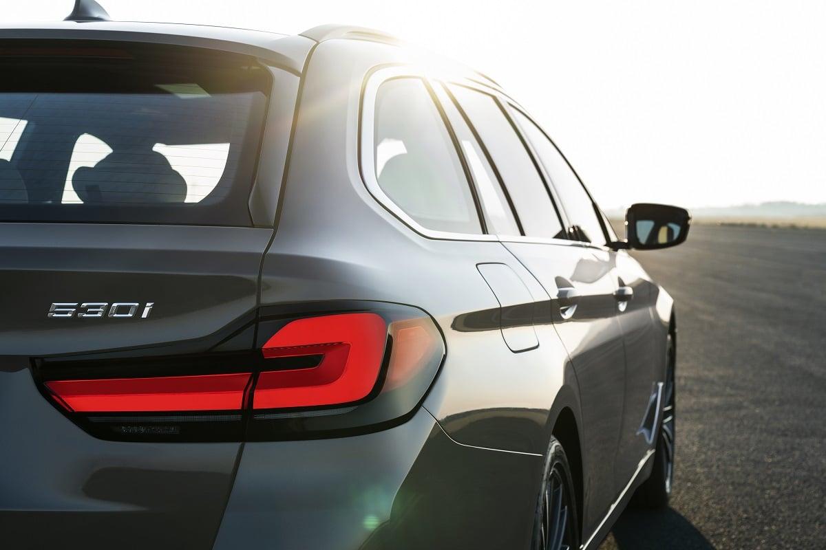 Rückleuchte des BMW 5er Touring