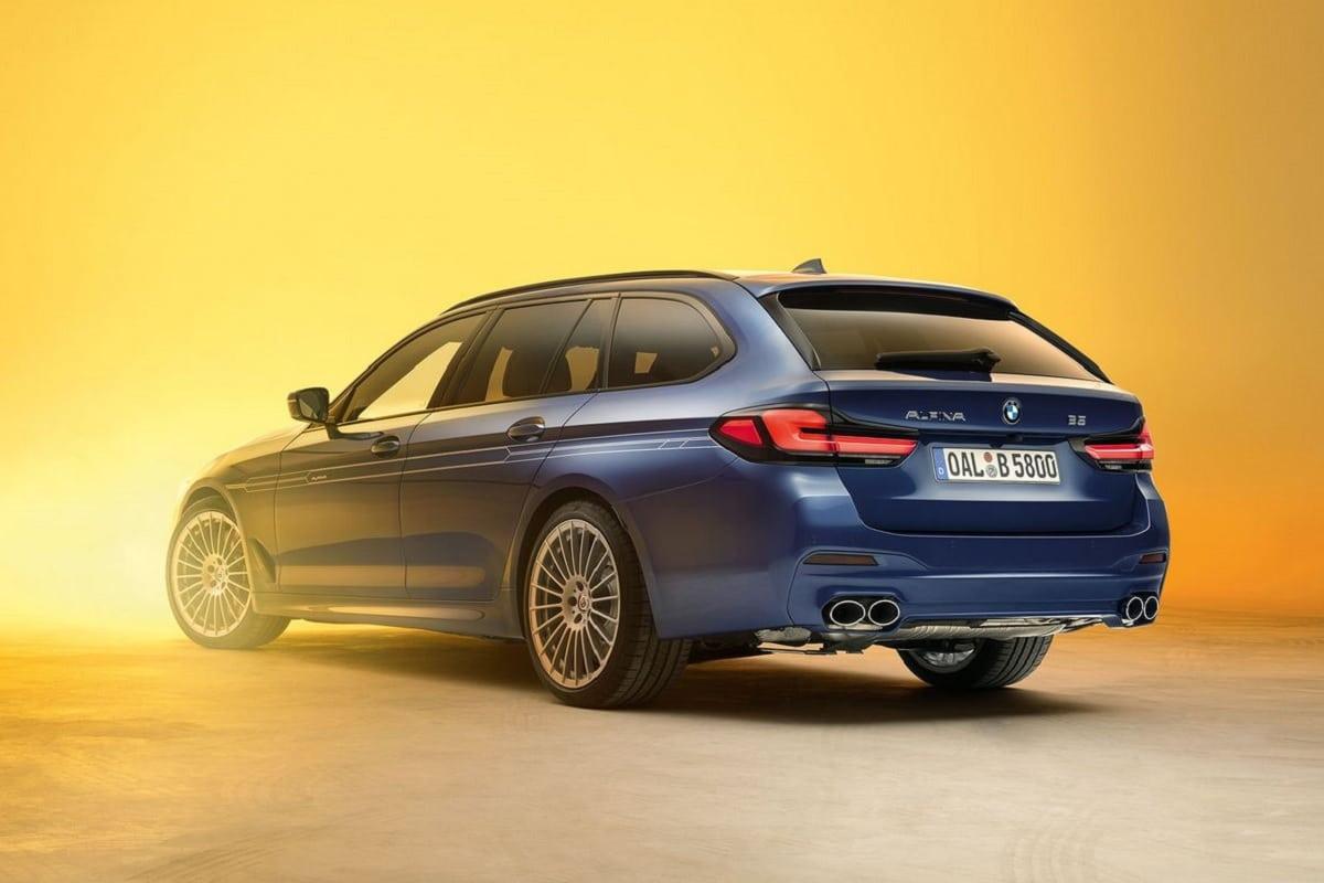 BMW ALPINA B5 Touring - Heckansicht