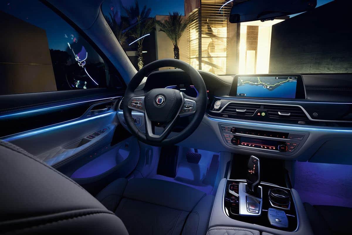Ambientebeleuchtung im BMW ALPINA B7