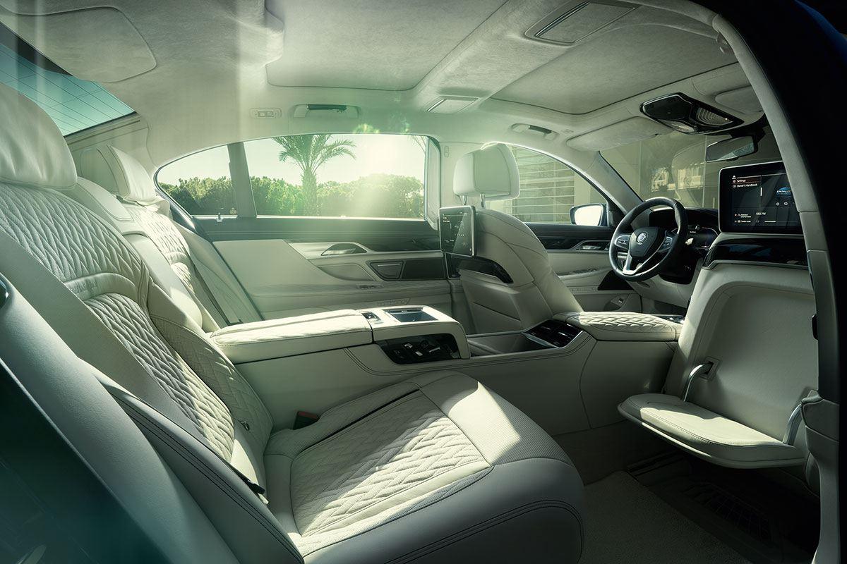 Innenraum im BMW ALPINA B7