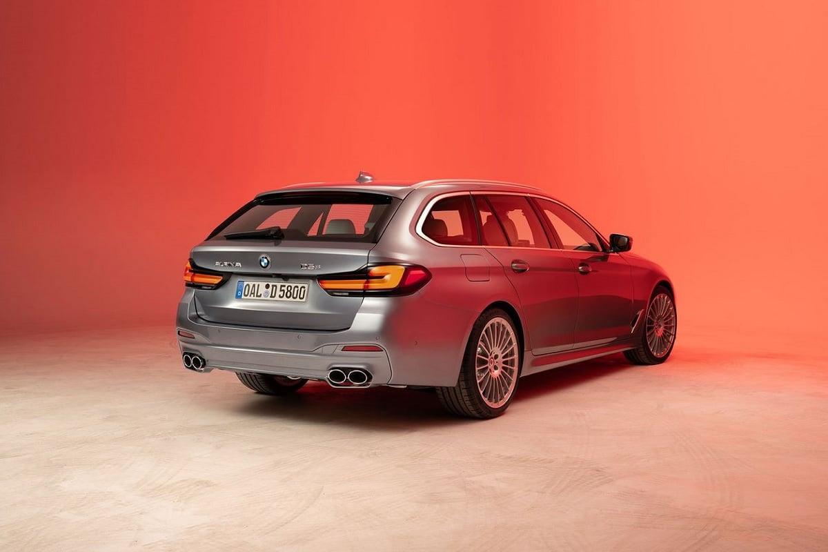 BMW ALPINA D5 S Touring - Heckansicht