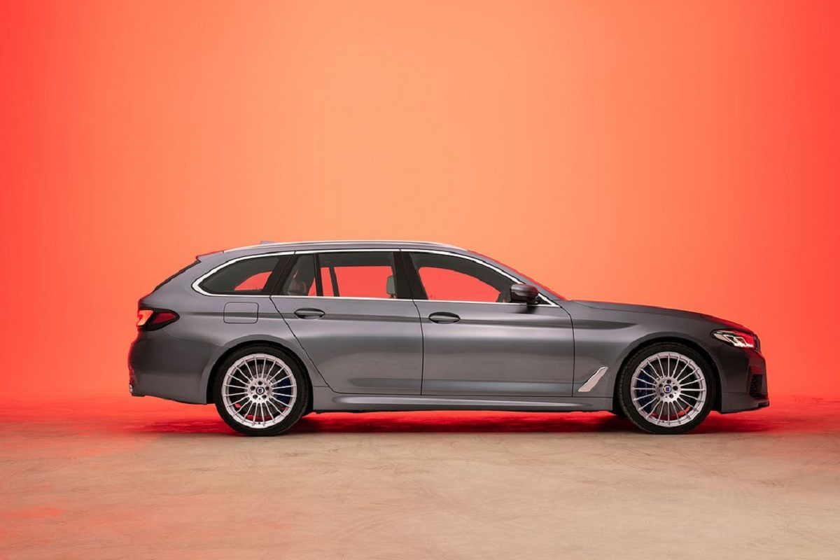 BMW ALPINA D5 S Touring - Seitenansicht