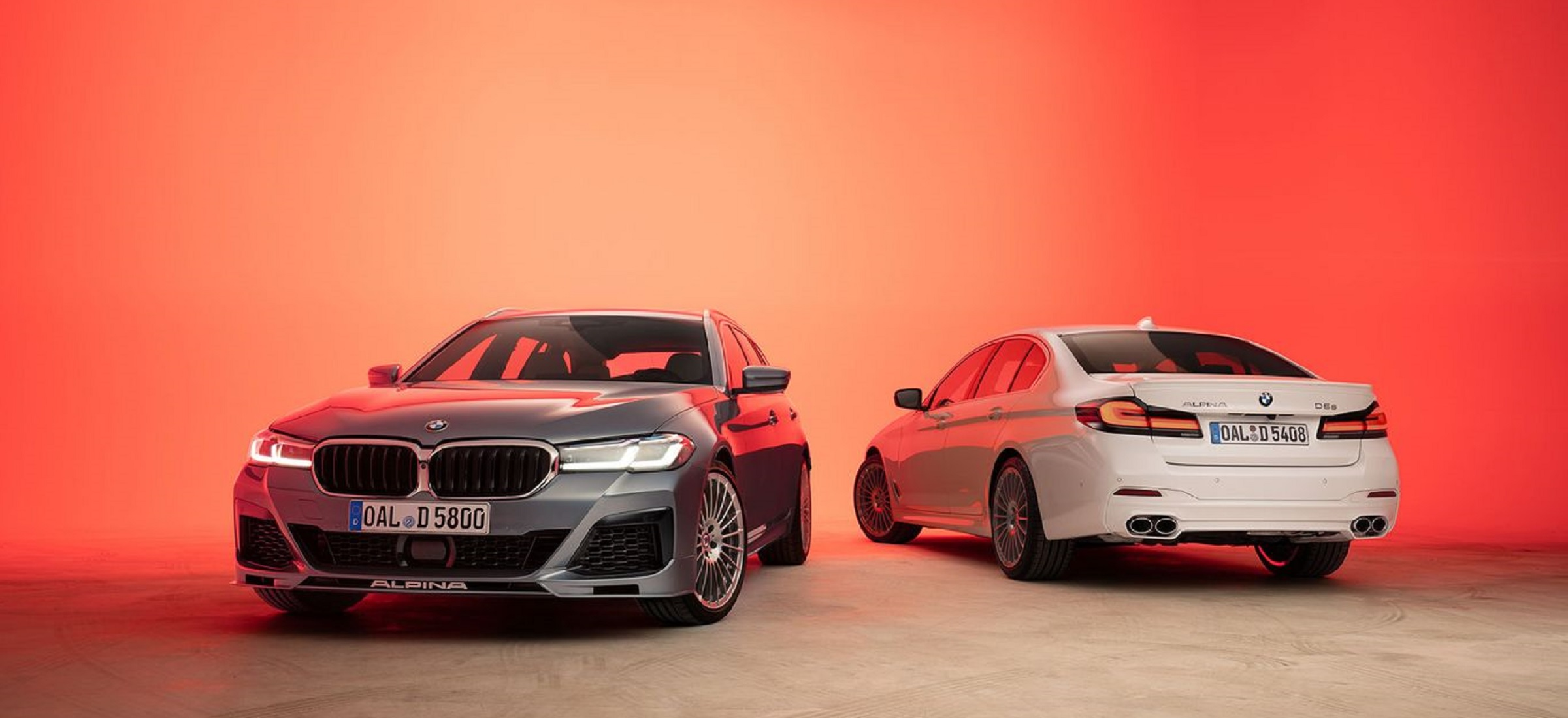 BMW ALPINA D5 S Touring und Limousine