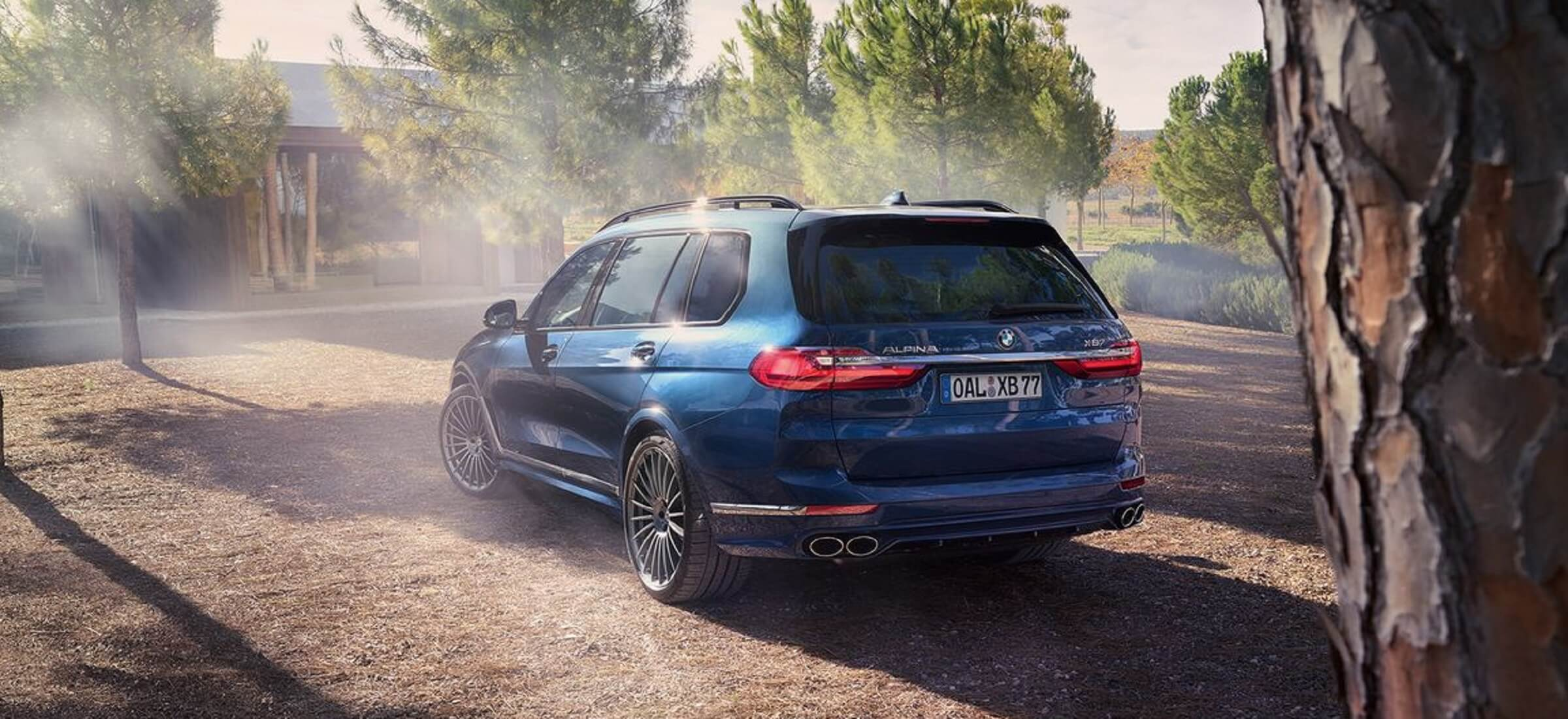 BMW ALPINA XB7 Heck