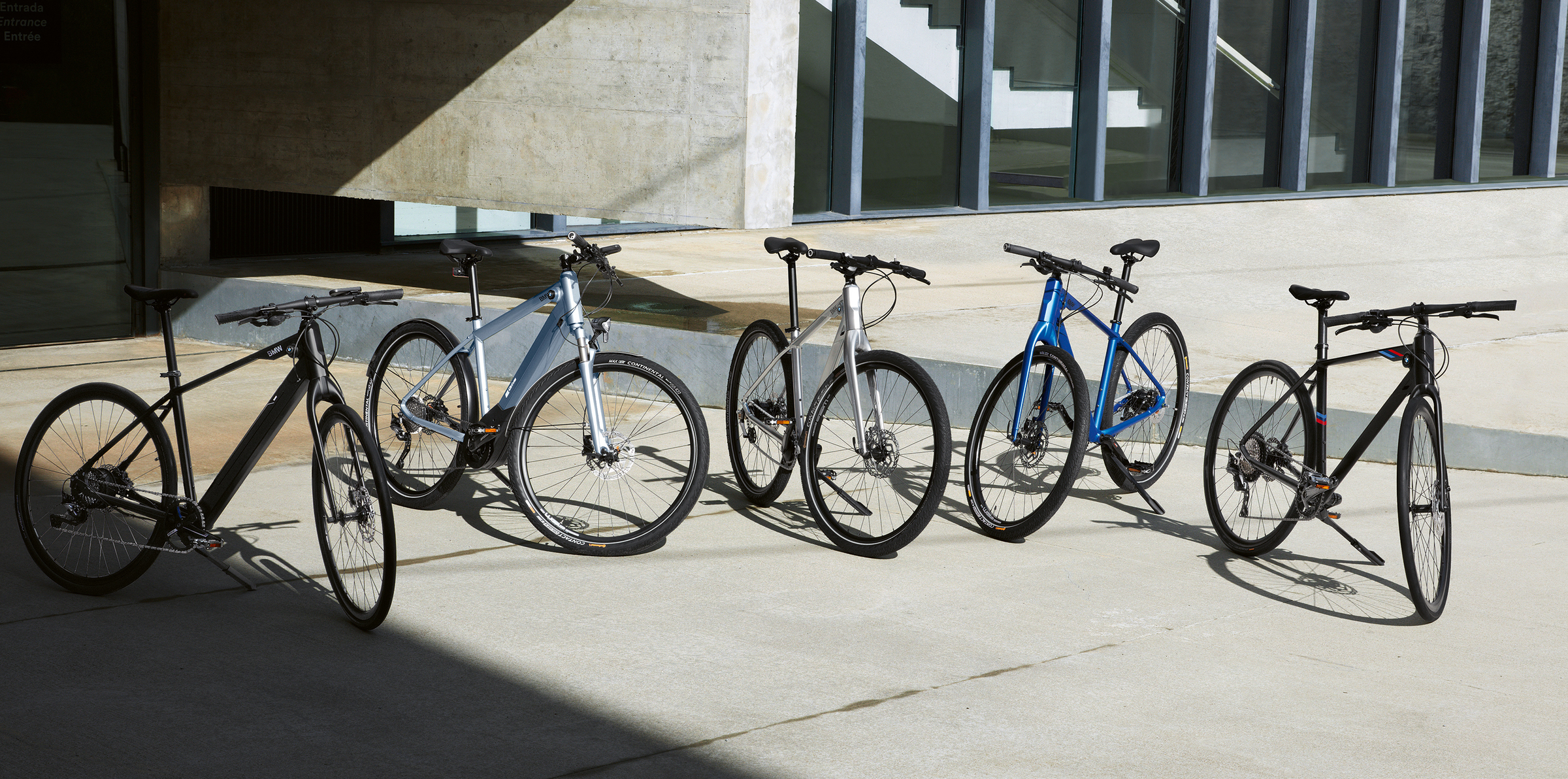 BMW Fahrräder im Überblick