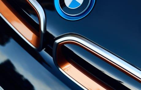 BMW i3 Sonderedition RoadStyle BMW Logo