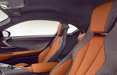 Sitze im BMW i8 Coupé