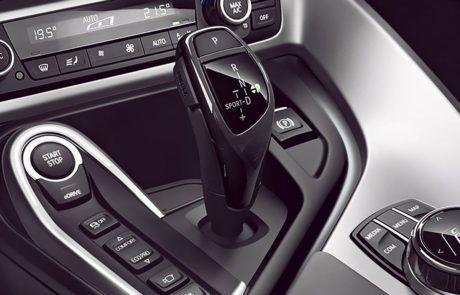 Schalthebel im BMW i8
