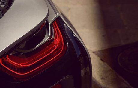 BMW i8 Coupé Heckleuchte