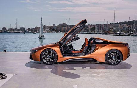 Türen des BMW i8 Roadster