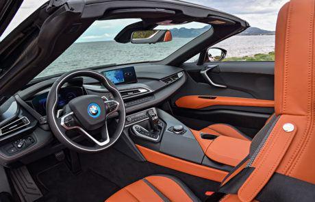 Innenraum im BMW i8 Roadster