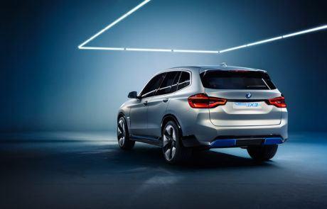 Heckansicht BMW ix3