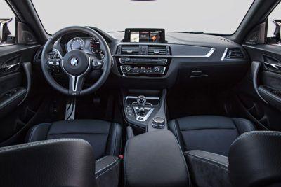 Innenraum des BMW M2 Competition