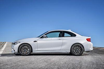 BMW M2 Competition Seitenansicht