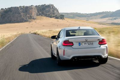 BMW M2 Competition in weiß