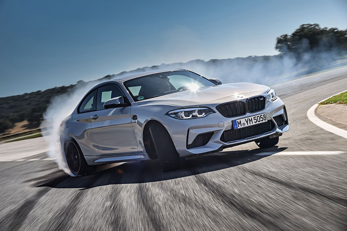 BMW M2 Competition Drifting