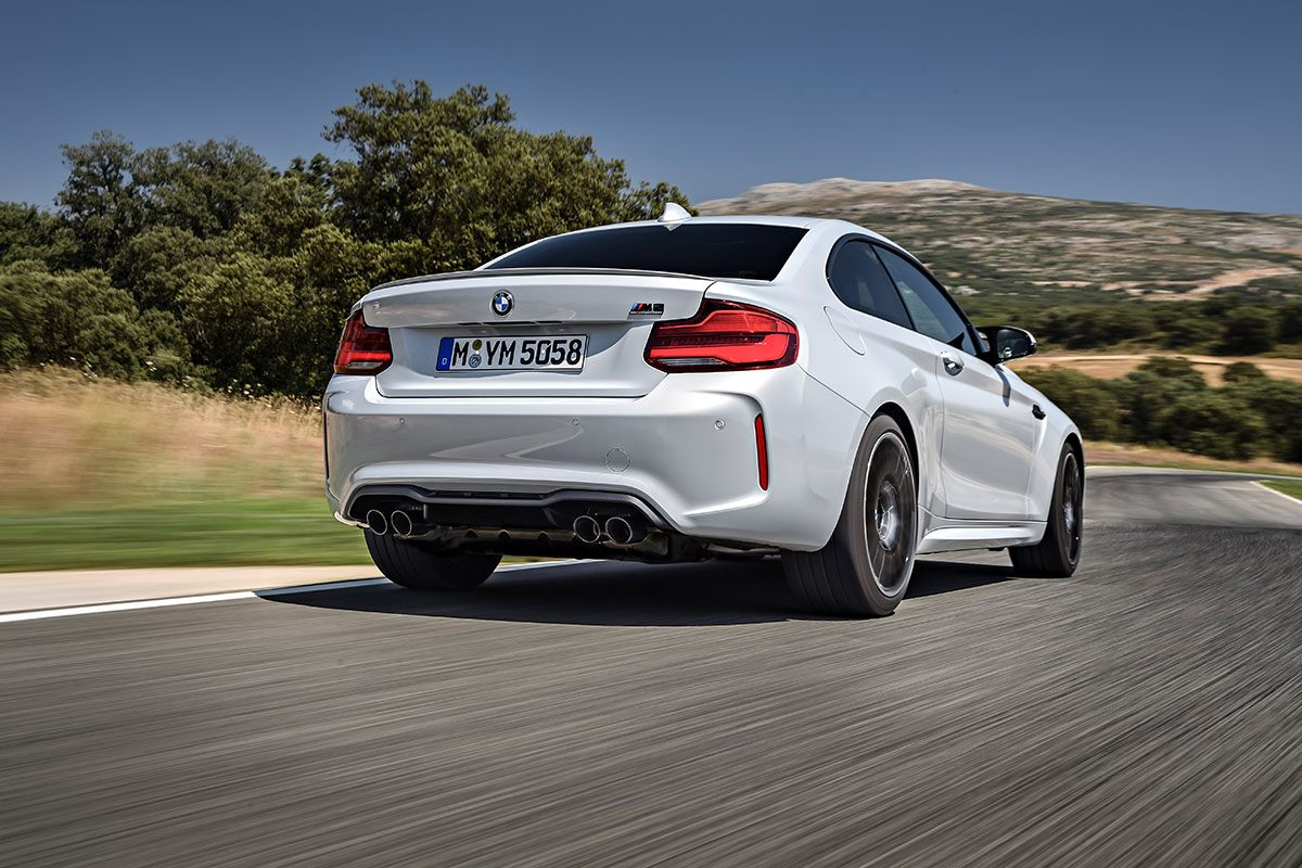BMW M2 Competition Heck