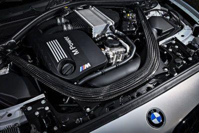M Power - Motor im BMW M2