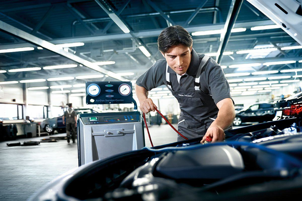 BMW Service: Elektronik