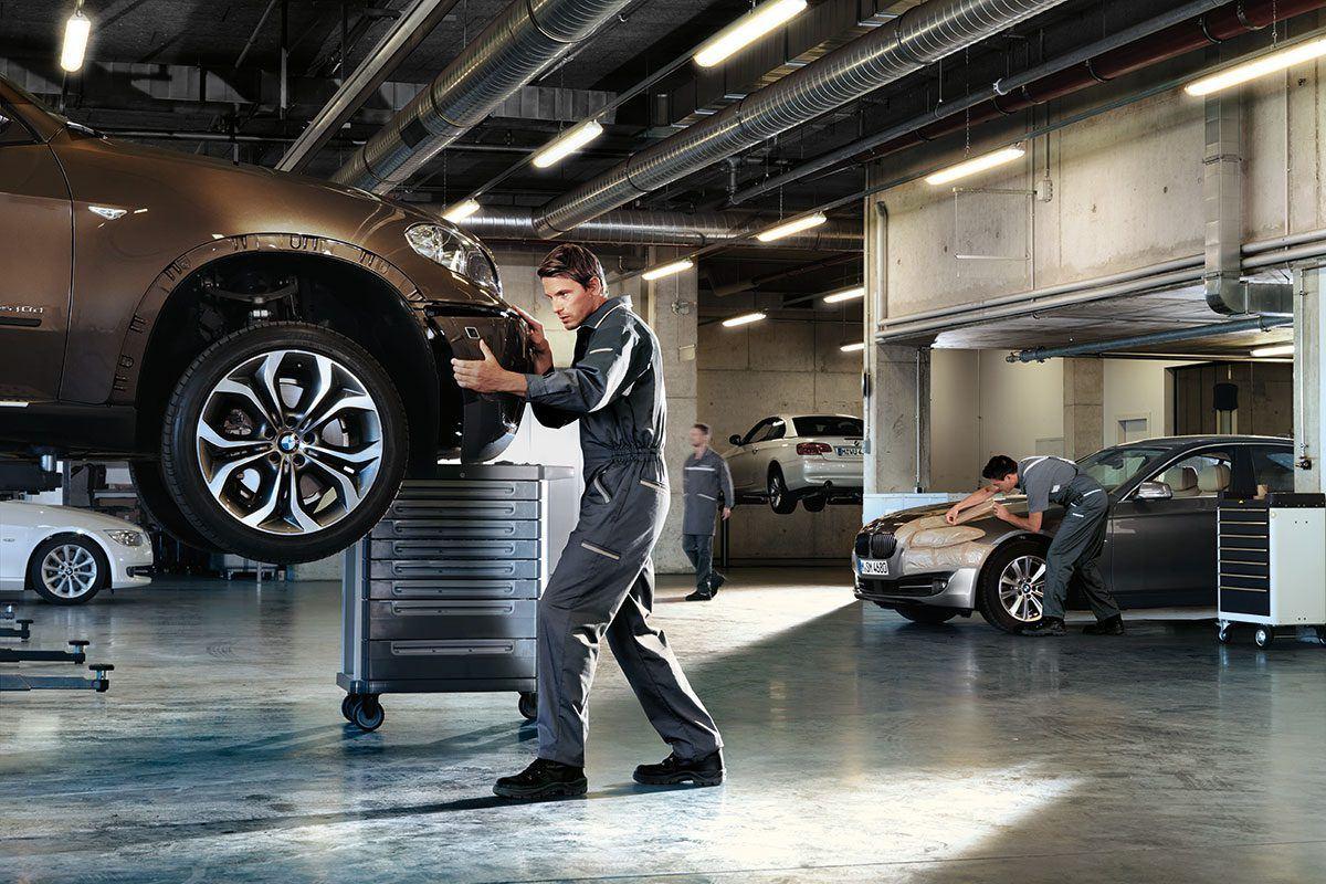 BMW Karosserie-Reparaturen