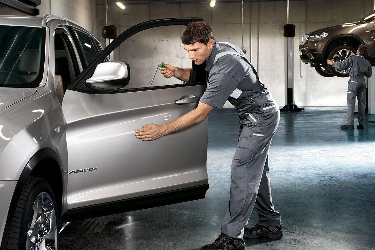 BMW Smartrepair in Werkstatt