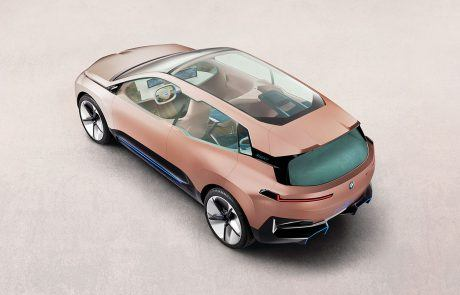 BMW Vision iNext mit Glasdach