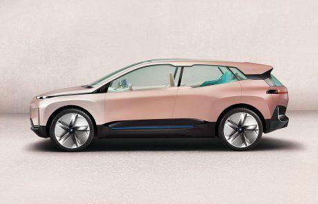 BMW Vision iNext Seitenansicht
